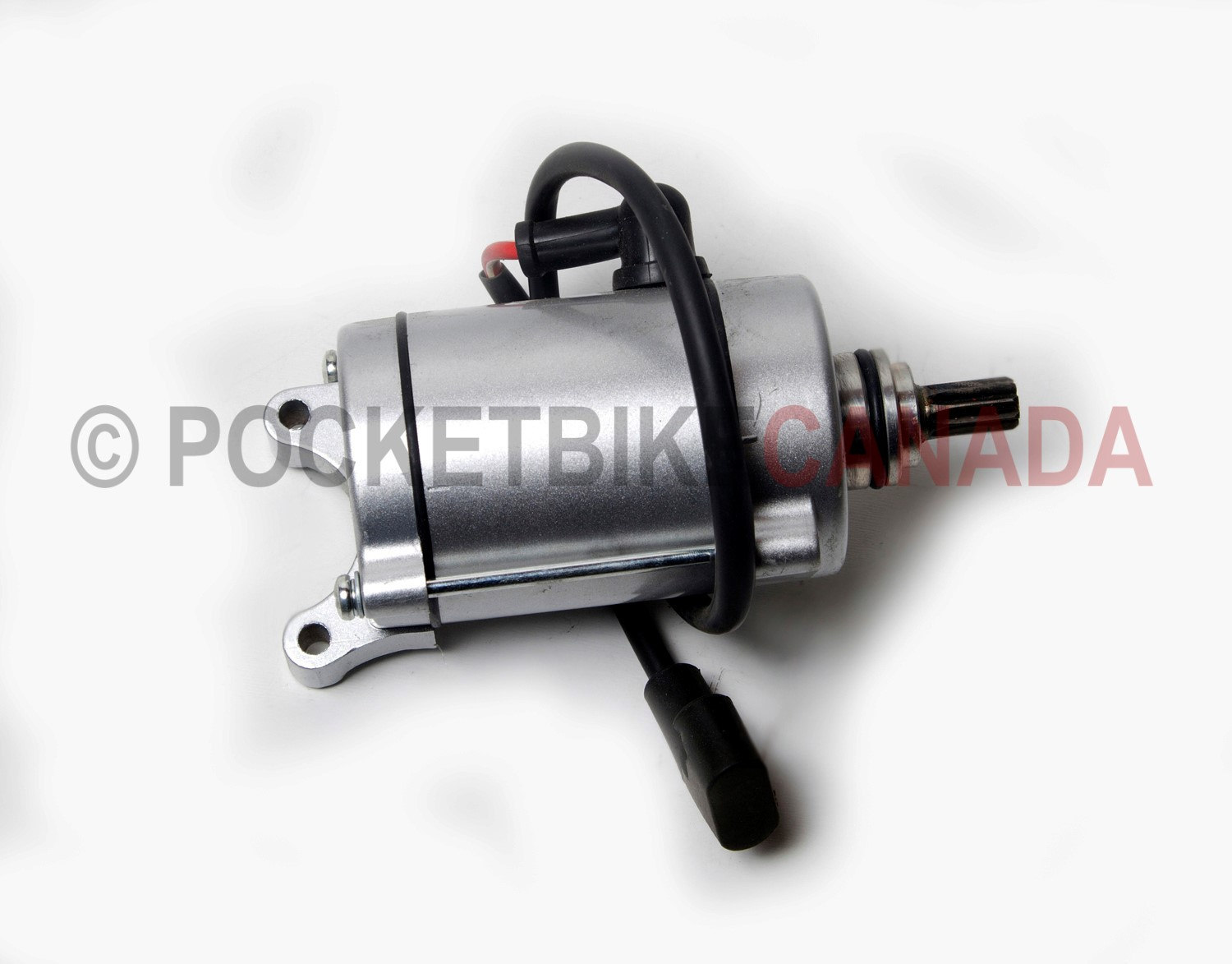Pocket bike canada bikes parts starter motor for for How to make an electric bike with a starter motor