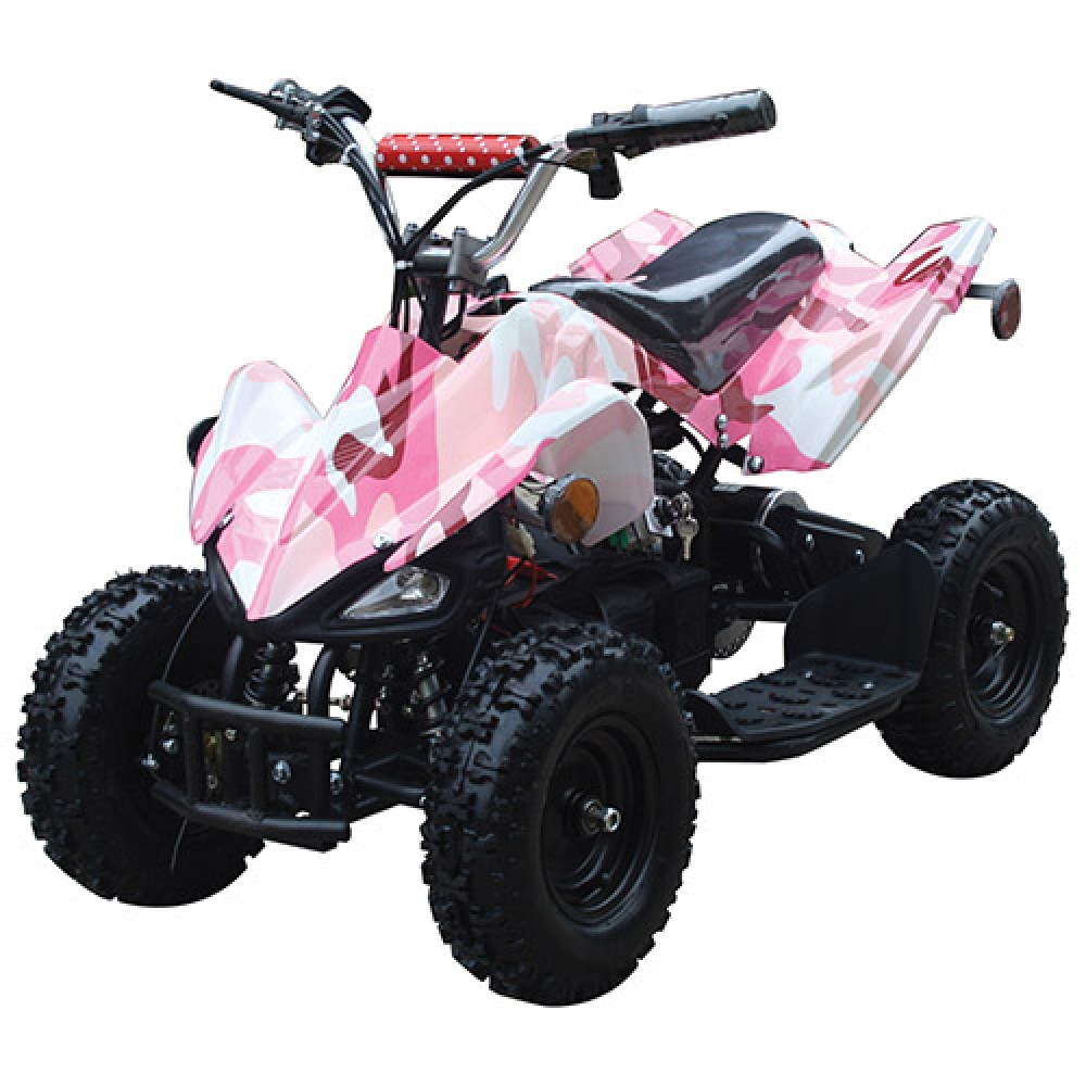 Electric Atv For Kids Battery Powered 4 Wheeler With