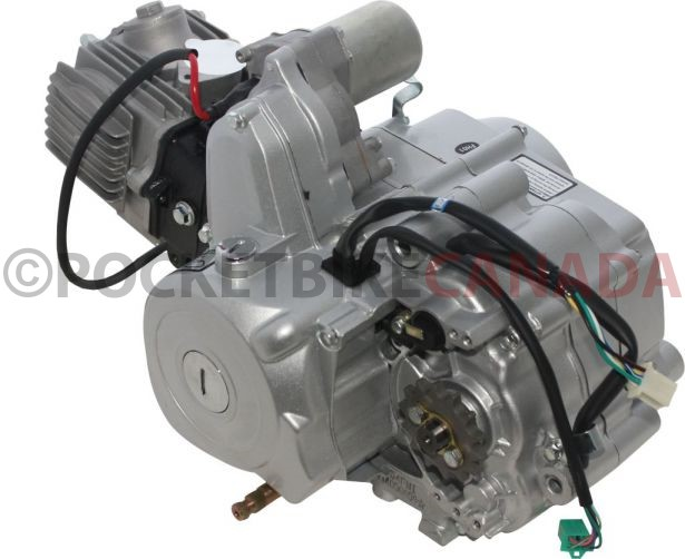 Complete Engine 125cc Horizontal Engine D N R Electric
