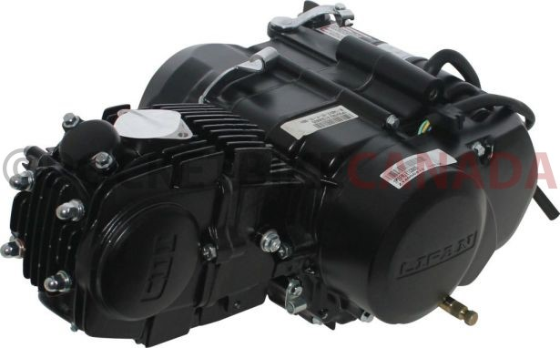 Complete Engine - LIFAN 140cc Horizontal Engine, Manual Shift, Kick Start -  PBC3142F1 - Pocket Bike Canada - Mini ATV , Dirt Bikes, Pocket Bikes,