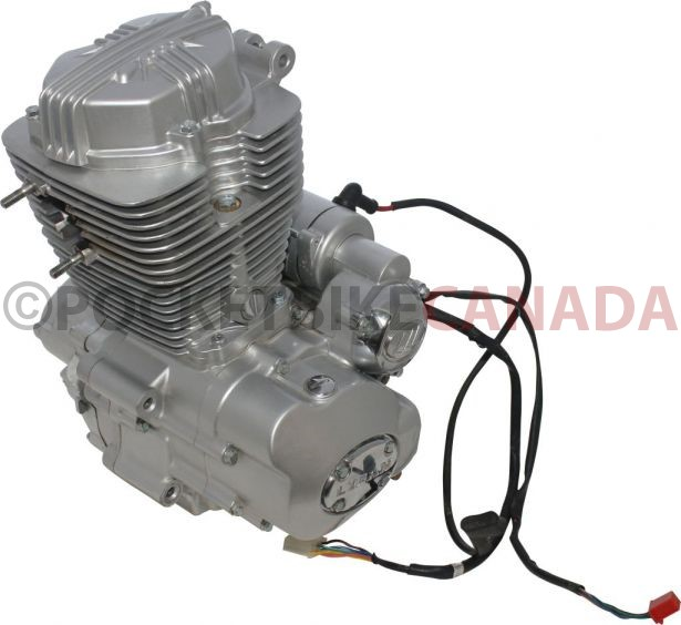 Complete Engine Vertical Cc Engine Manual Shift Electric Start on Pit Bike Wiring Diagram
