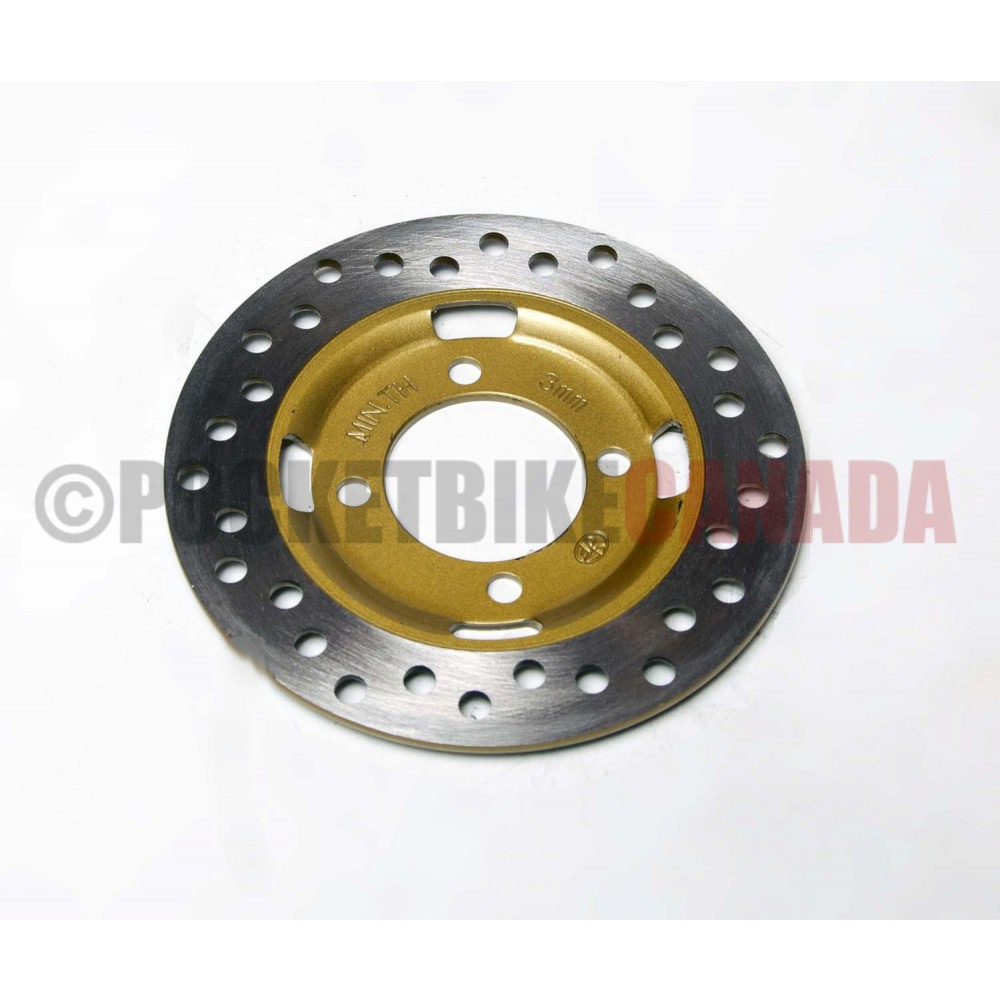 Cross Drilled Front Rotor