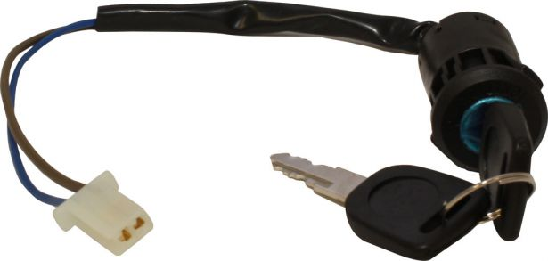 Ignition Key Switch - 2 pin Female, Plastic - PBC2386F1 - Pocket Bike  Canada - Mini ATV , Dirt Bikes, Pocket Bikes, Scooters, Electric Bikes and  PARTS