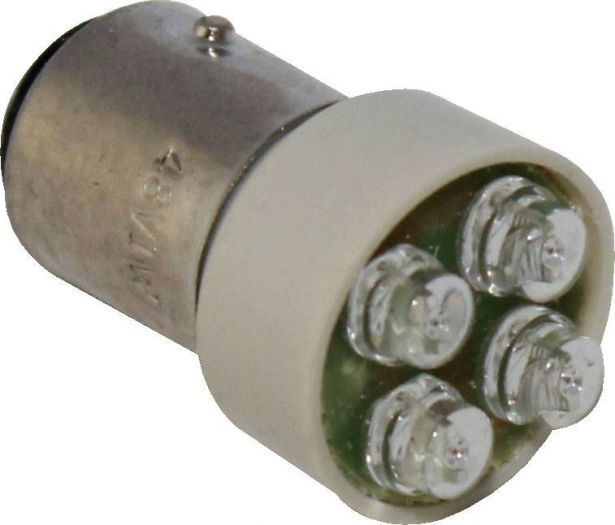 48V 1W, LED, Dual Contact, Offset Pins