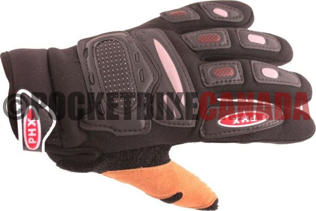 Phx Gloves Motocross Kids Black Medium Pocket Bike