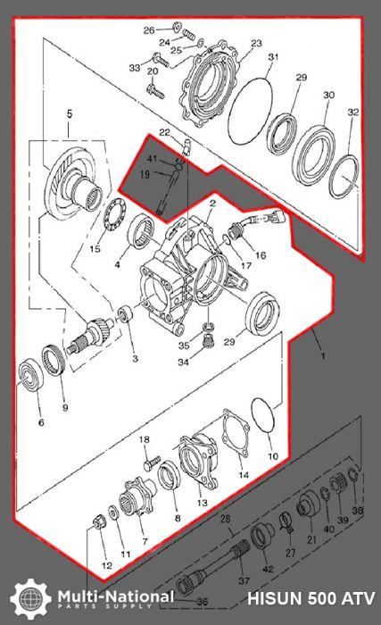 Hisun Wiring Diagram