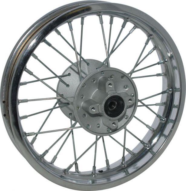 Rim Rear 12 Chrome Steel Dirt Bike Rim 1 85x12 Disc Brake