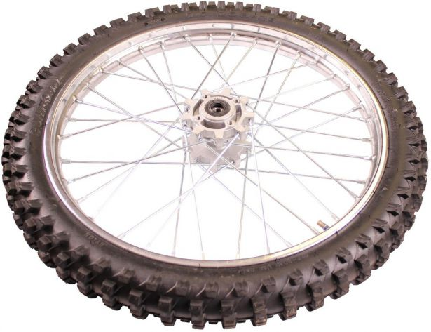 Rim and Tire Set - Front 19