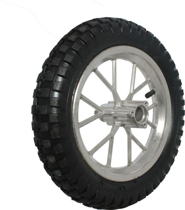 Rim_and_Tire_Set_ _Rear_8_Chrome_Rim_with_12 5x2 75_Tire_Disc_Brake_1
