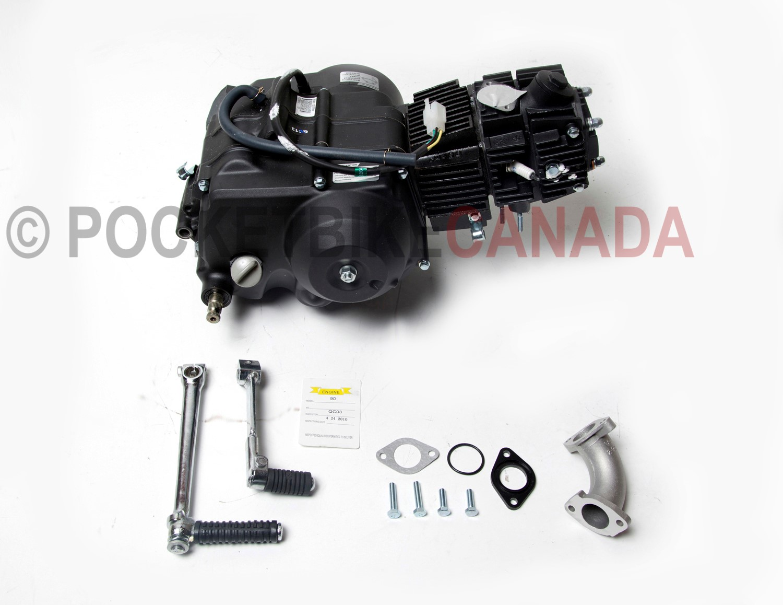 POCKET BIKE CANADA - BIKES & PARTS - Engine - Semi Automatic Transmission  for 90cc XT90/X21C Dirt Bike Qu - Pocket Bike Canada - Mini ATV , Dirt