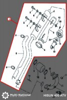 Exhaust_Tube_and_Muffler_ _Exhaust_Pipe_and_Muffler_Exhaust_Manifold_ATV_Hisun_400cc_1
