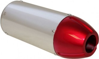 Muffler_ _50cc_to_250cc_Performance_CNC_Red_Tip_1