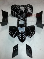 Body Kit Complete with Foot Rests Side Vents for 50cc/70cc/90cc/110cc 4-Stroke Mini ATV Quad Any Color - G1010019