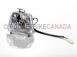 Front Headlight and Bulb for 50cc/70cc/90cc/110cc 4-Stroke Mini ATV Quad - G1010055