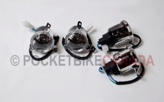 Front Headlight Set 4 Pods Lamp for 110cc/125cc, T2 Rebel, ATV Quad 4-Stroke - G1050023